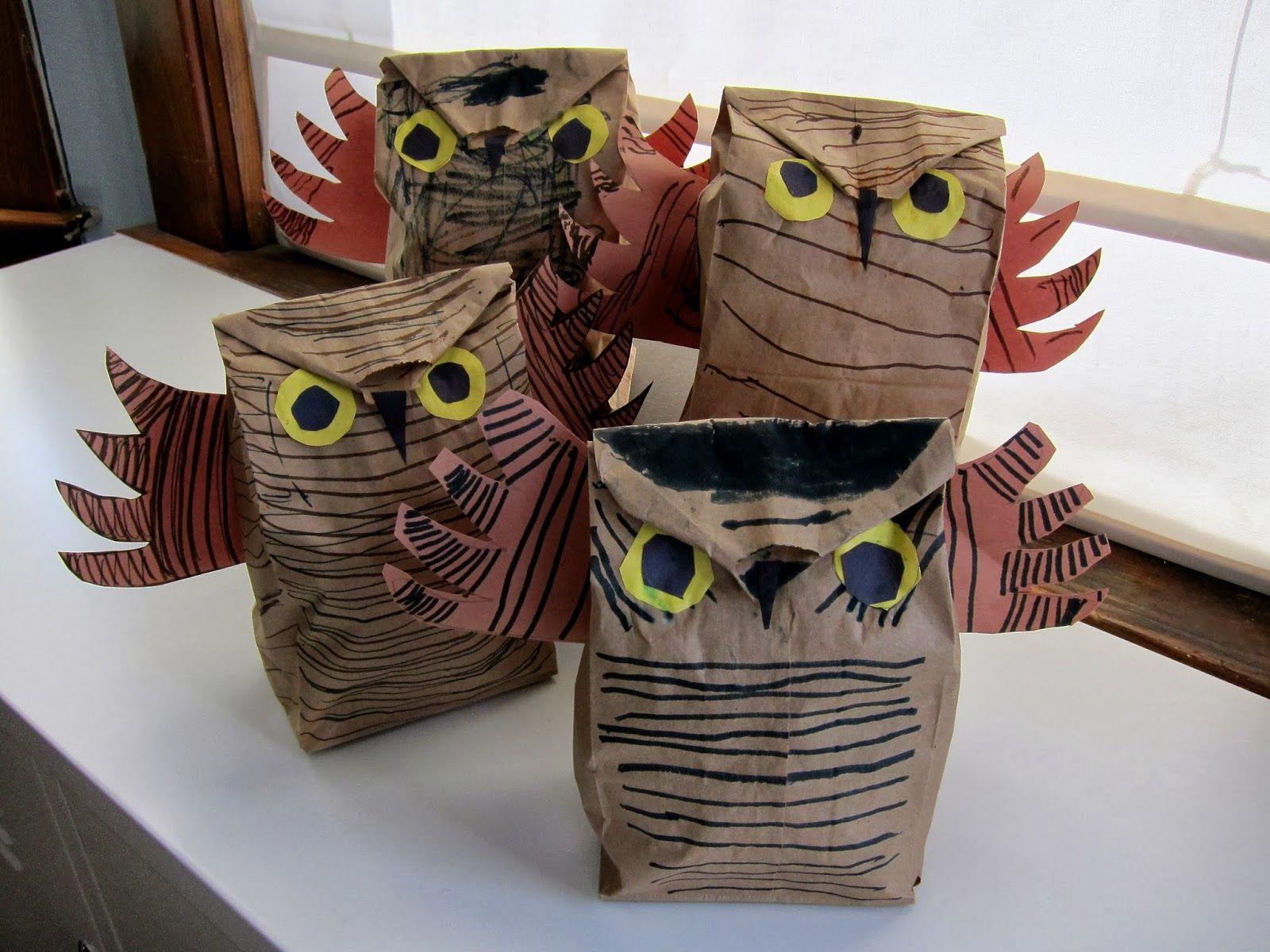 Joyfully Weary Owl Moon Craft