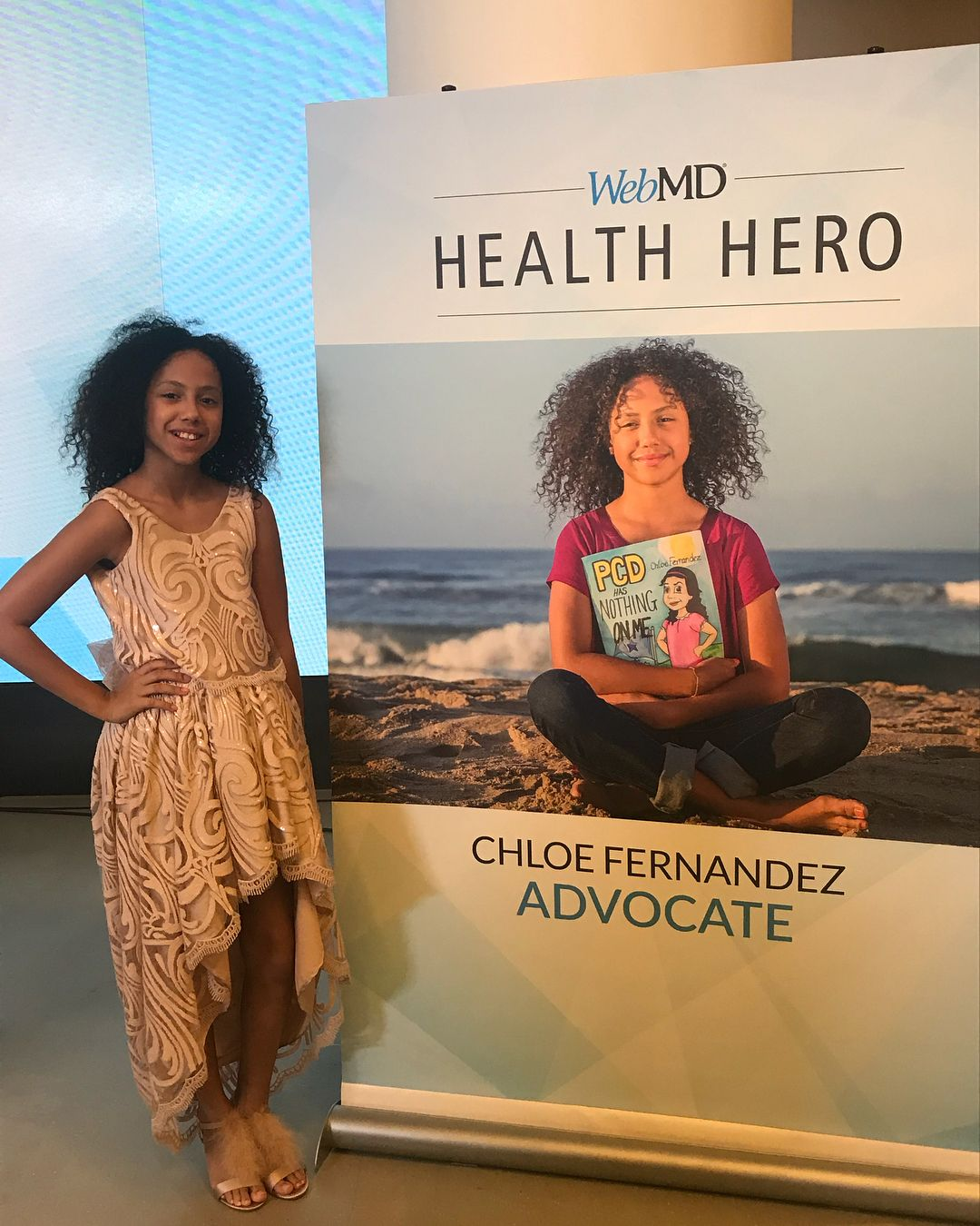 11 Year Old Wins Webmd Award For Her Book Explaining Rare Disease