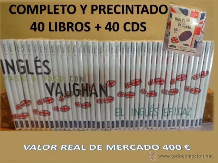 INGLÉS PASO A PASO CON VAUGHAN. CURSO COMPLETO. 40 LIBROS