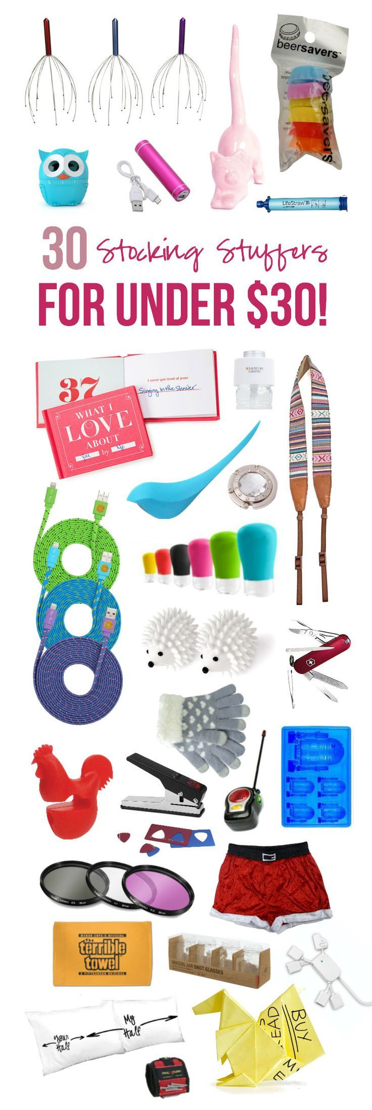 Good Stocking Stuffer Ideas 30 stocking stuffers under $30 | for the, mom and ever after