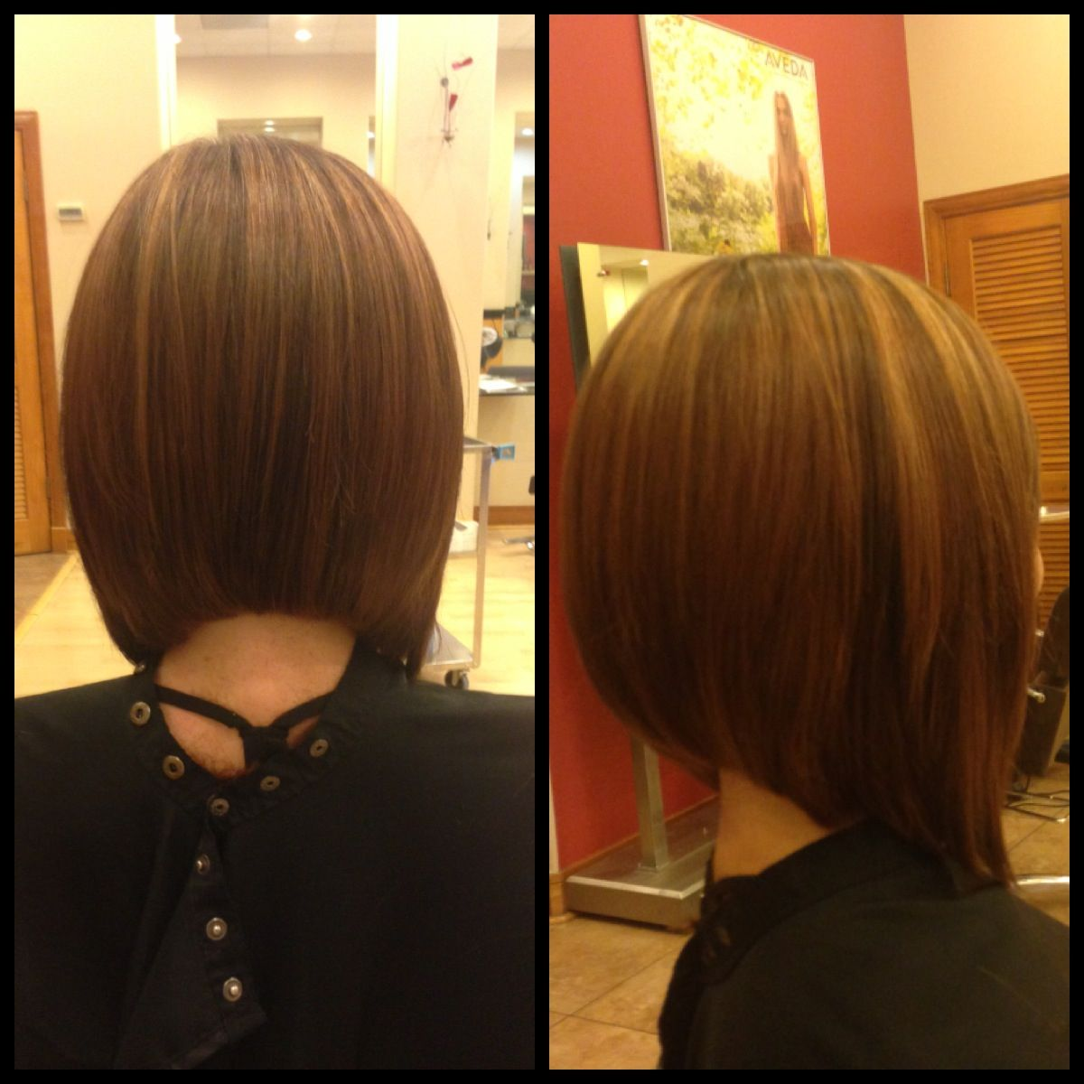 Pin By Becca Burnette On My Work Concave Bob Hairstyles One Length Haircuts Hair Styles