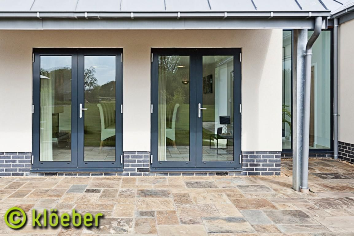 unique and antique exterior french doors aluminium french doors kloeber - Modern Exterior French Doors
