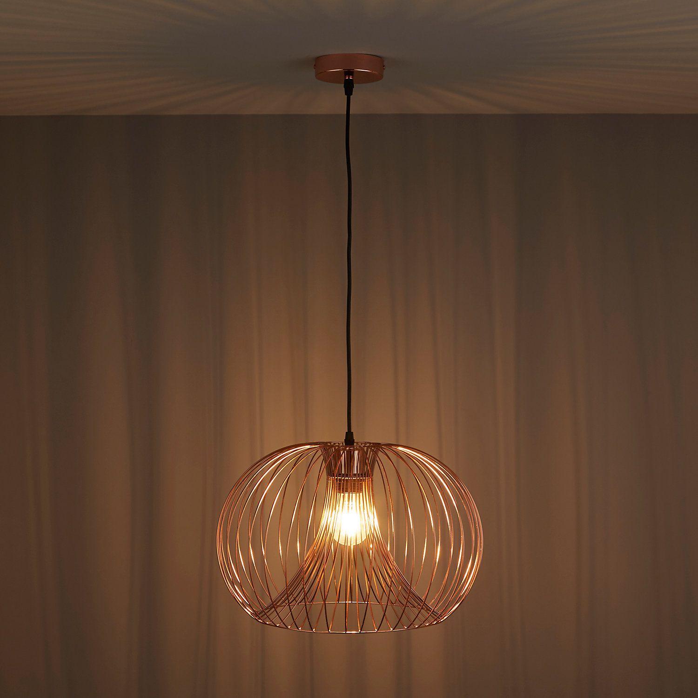 Jonas Wire Copper Pendant Ceiling Light Ceiling Lights Pendant