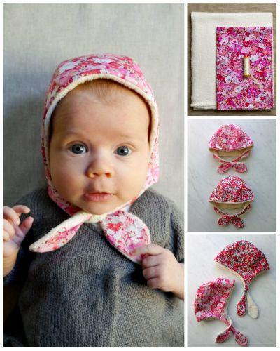 Diy Winter Baby Bonnet | Sewing Ideas | Pinterest | Janosch und Nähen