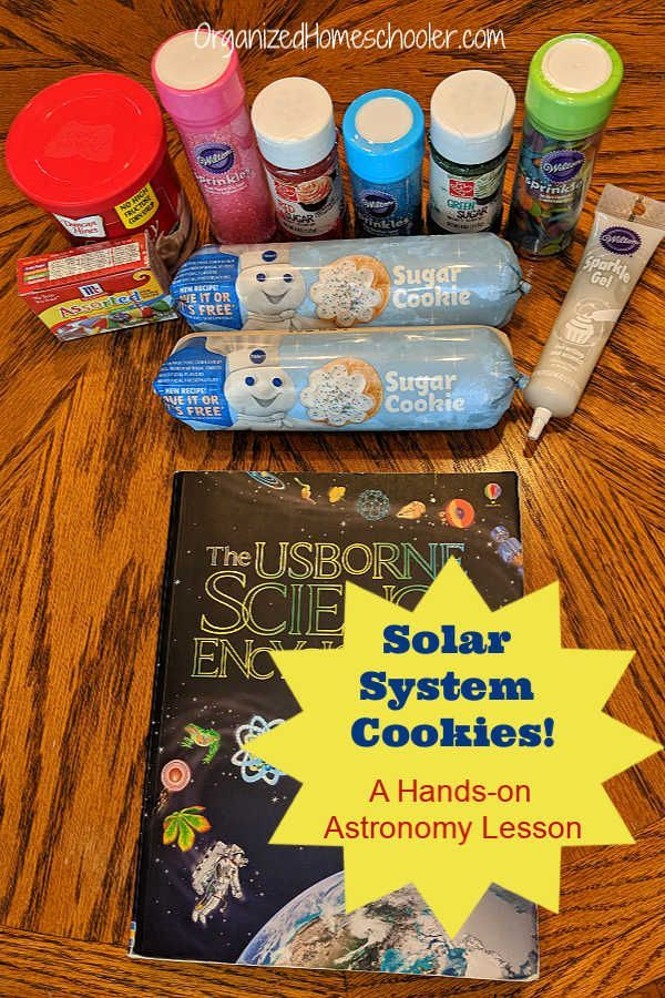 DIY Solar System Cookies A Fun Review Solar system for