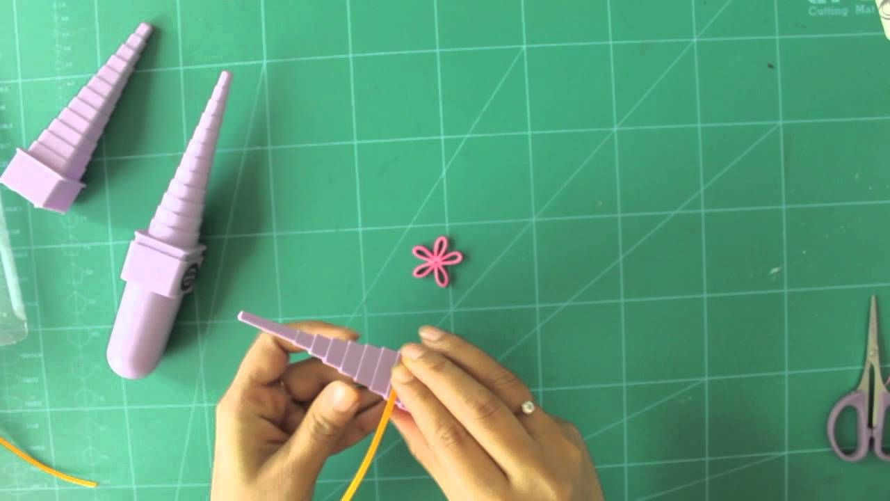 How To Make Paper Quilling Flower Using Quilled Creations Border
