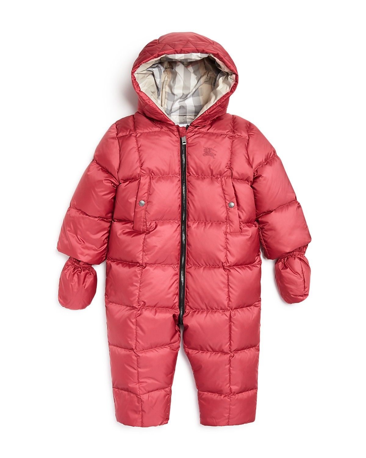 Burberry Girls Skylar Snowsuit Baby Kids Baby Baby Girl 0 24 Months Bloomingdale S Baby In Snow Snow Suit Baby Snowsuit