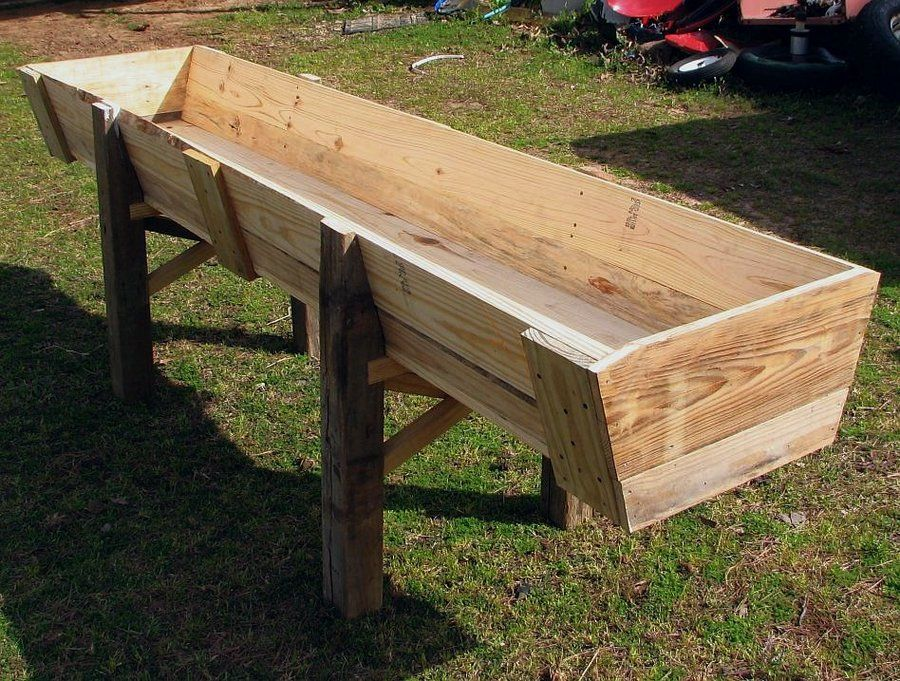 Another Farm Project A Feed Trough By Jim55