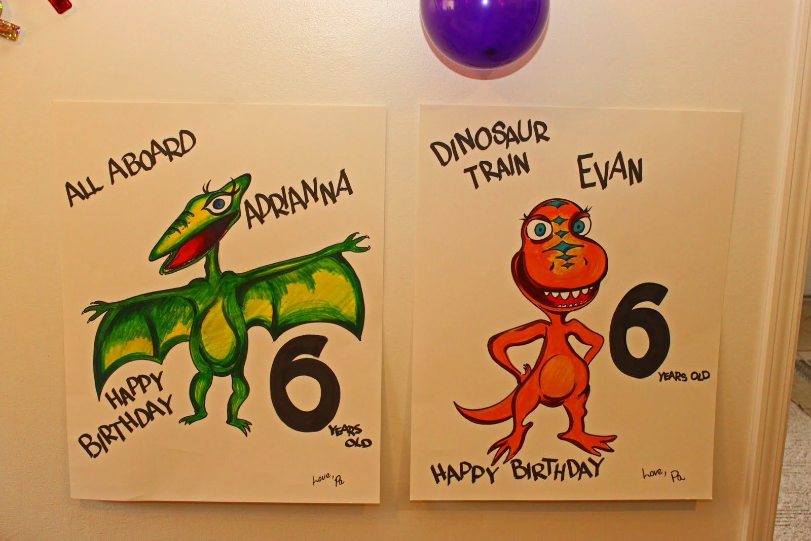 Tips From A Mom of 3: Dinosaur Train Birthday Party! Frugal & Fun ...