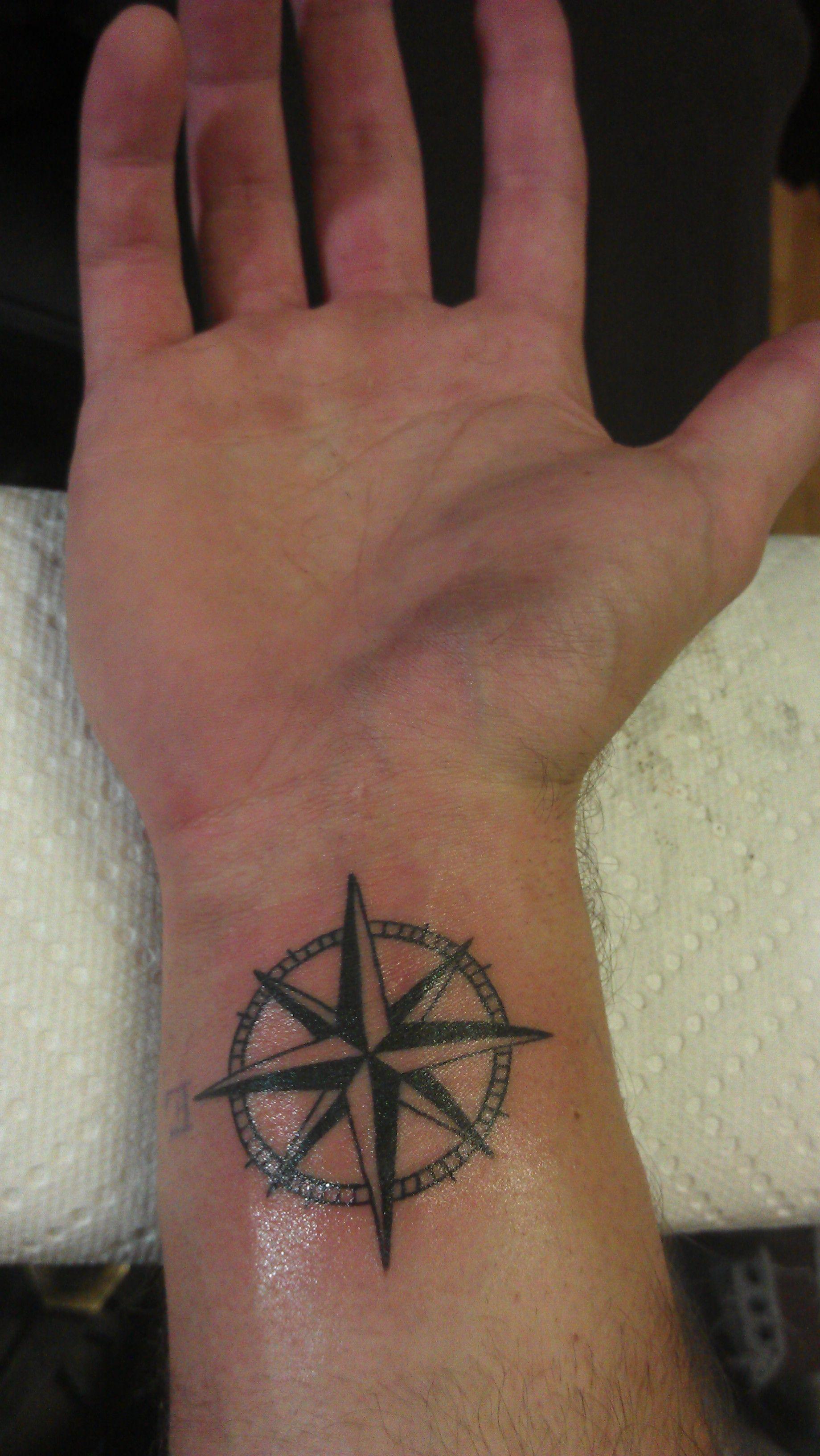 Nautical Star Tattoo, Got this in 2011 Nautical star