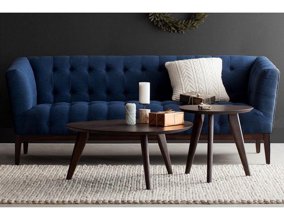 Structube Living room Sofas loveseats Carly Dark blue