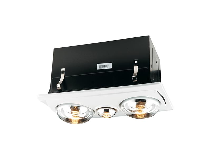 Clipsal 7600atp Three In One Airflow Light Heater Bathroom Fan