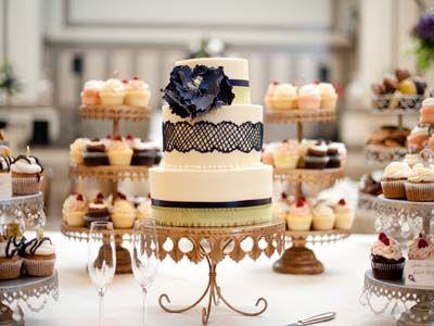 decadent vintage dessert table  #dessert table #vintage #wedding