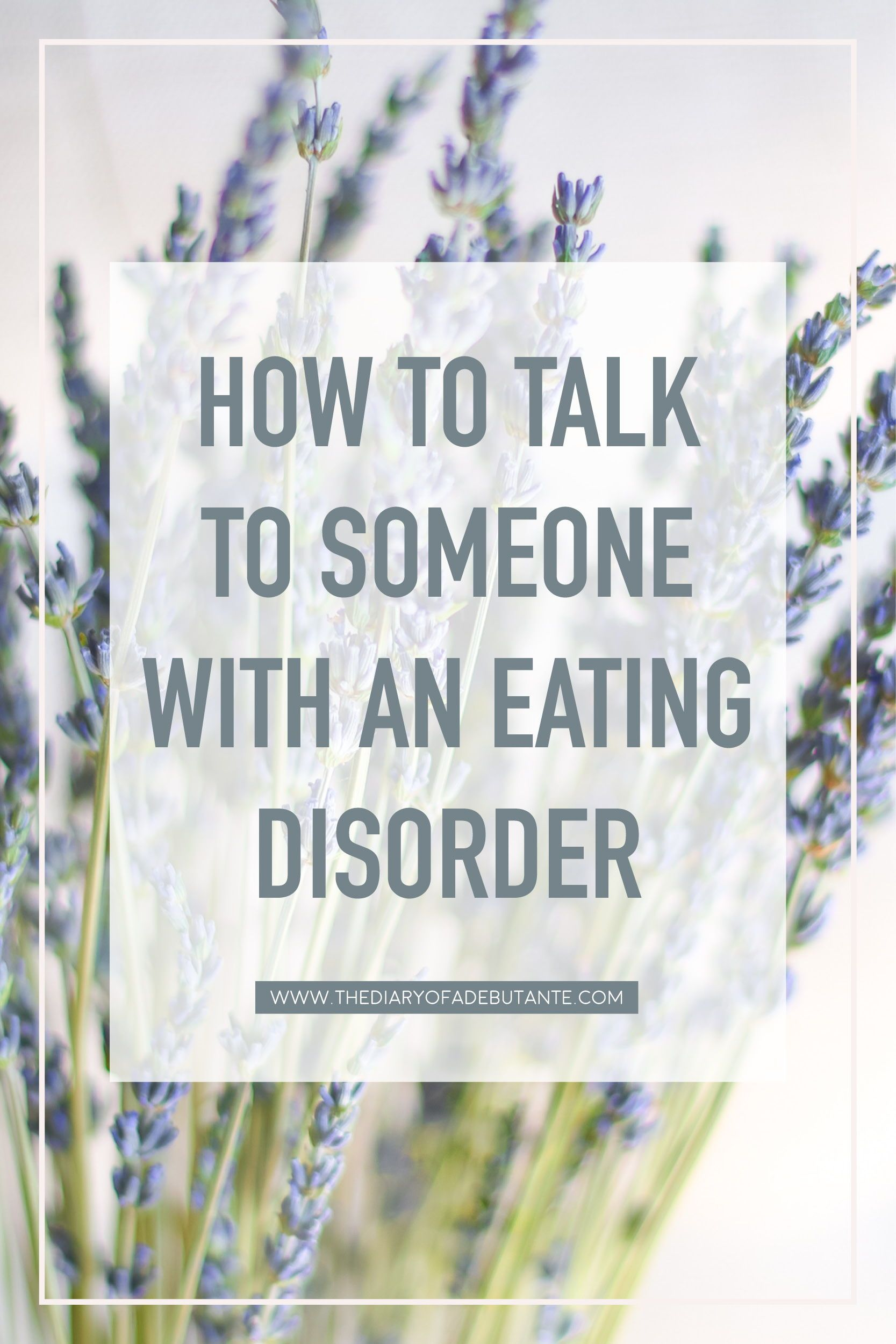 how to help someone with an eating disorder: 14 conversation