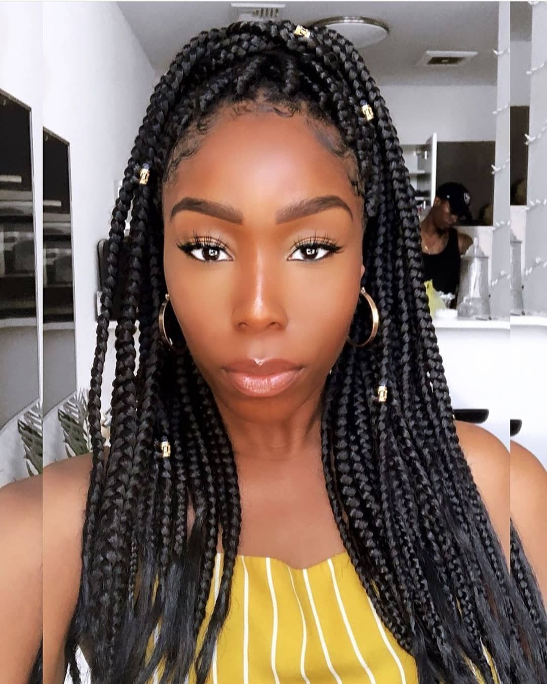35 Crochet Box Braids Hairstyles With Images Black Women