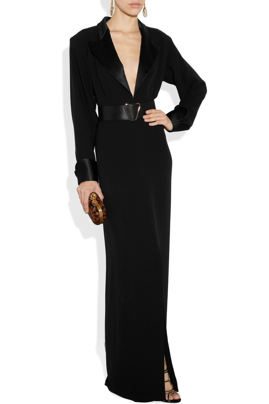 9985aa44f57 Yves Saint Laurent tuxedo dress. This is the stuff that fashion museums are  made of.