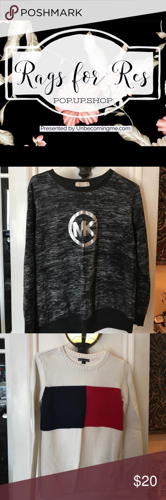 Sweaters, sweatshirts, blouses Michael Kors, Free people, Tommy Hilfiger Tops