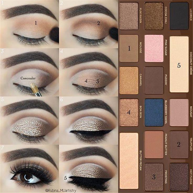 43 tutoriels de fard à paupières pour un maquillage parfait - Si facile que même les débutants peuvent apprendre #eyemakeup