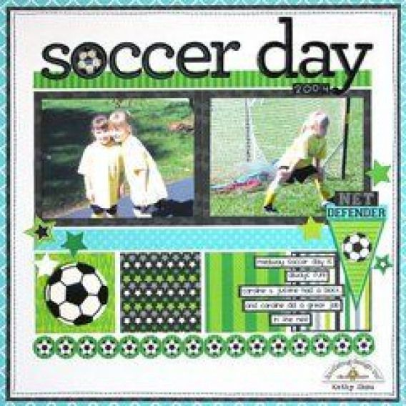 Doodlebug Design Soccer Day