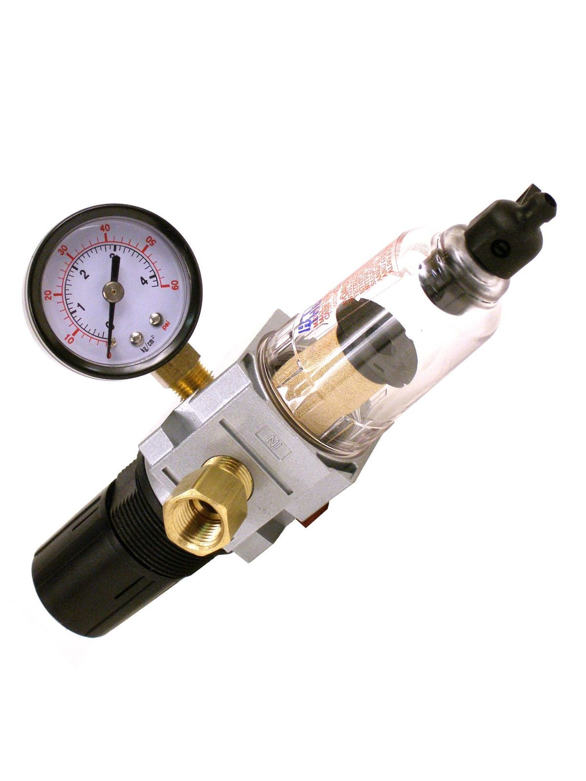 Badger Air Regulator, Filter and Gauge for Air Compressors