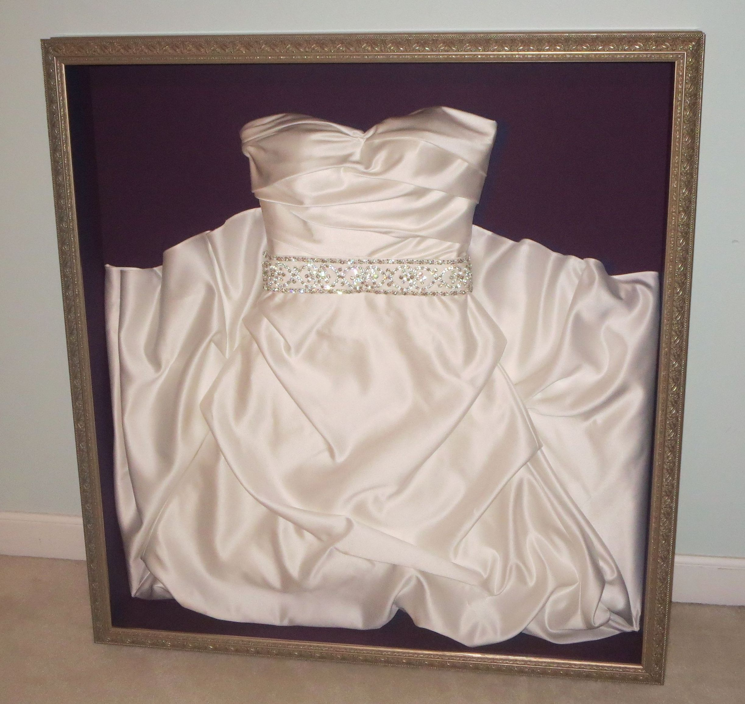 Wedding Gown Display: Wedding Dress Frame, Wedding