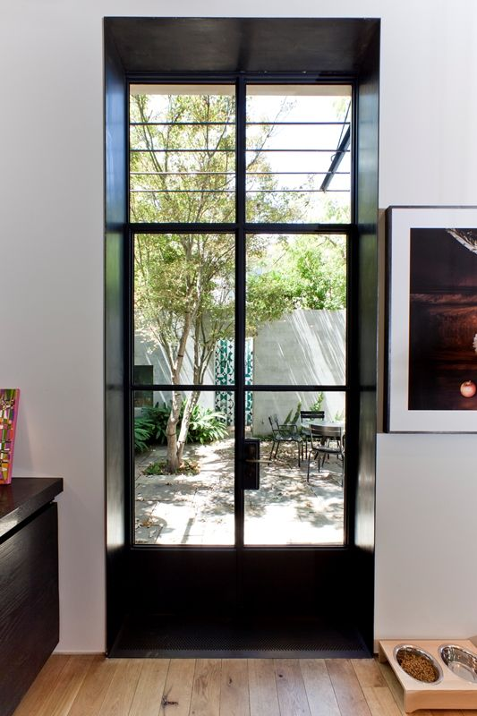 Using A Technique Blackened Steel Windows On The World Created