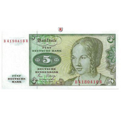 Bundesrepublik Deutschland, 5 DM 02.01.1980, I, Rb. 285a