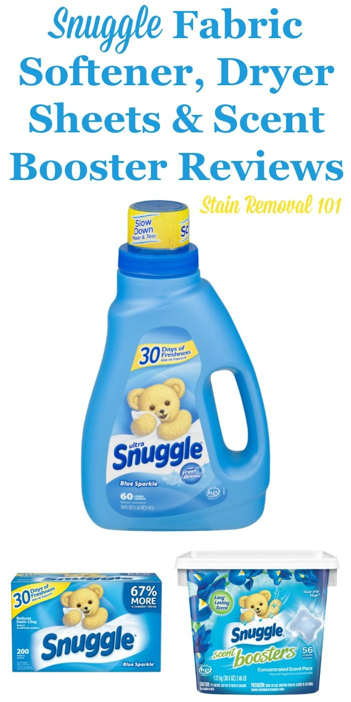 Snuggle Fabric Softener And Dryer Sheets Reviews And Information