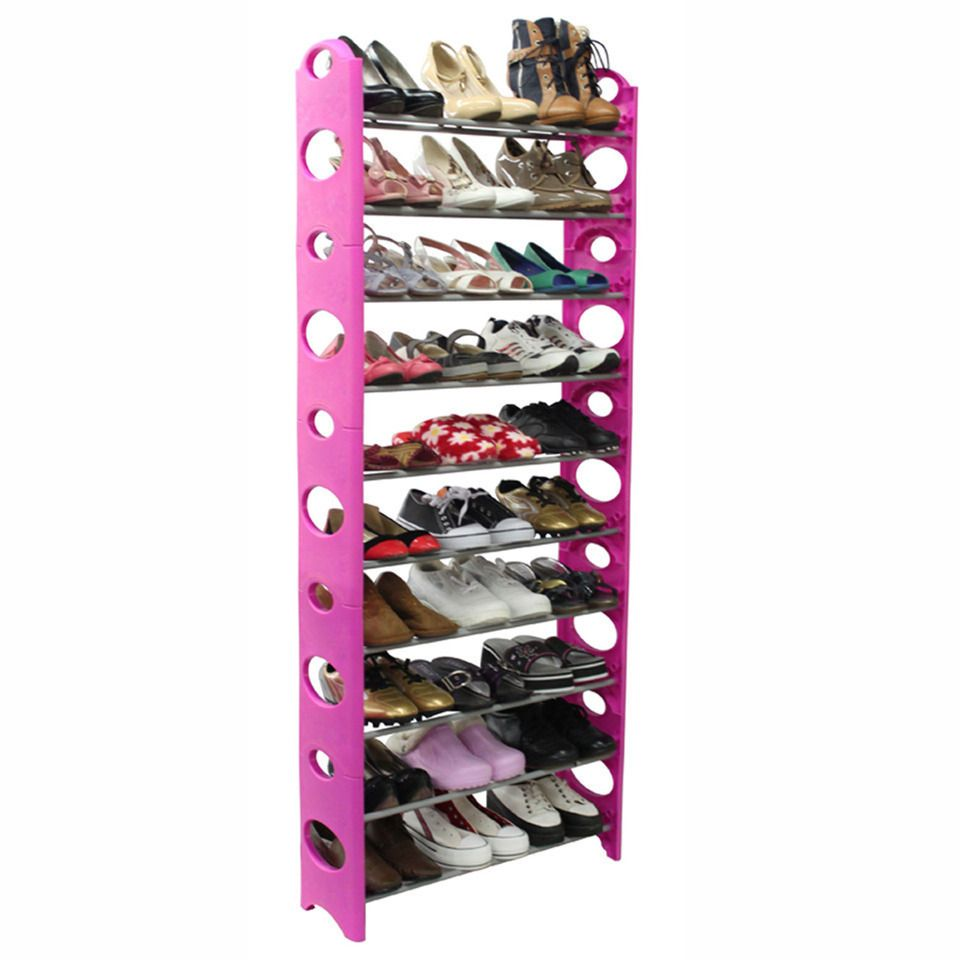 Home Basics 30 Pair Shoe Rack In Pink 19 99 Do You Have This The Low Price Worries Me But It Would Be So Nice To Have All My With Images