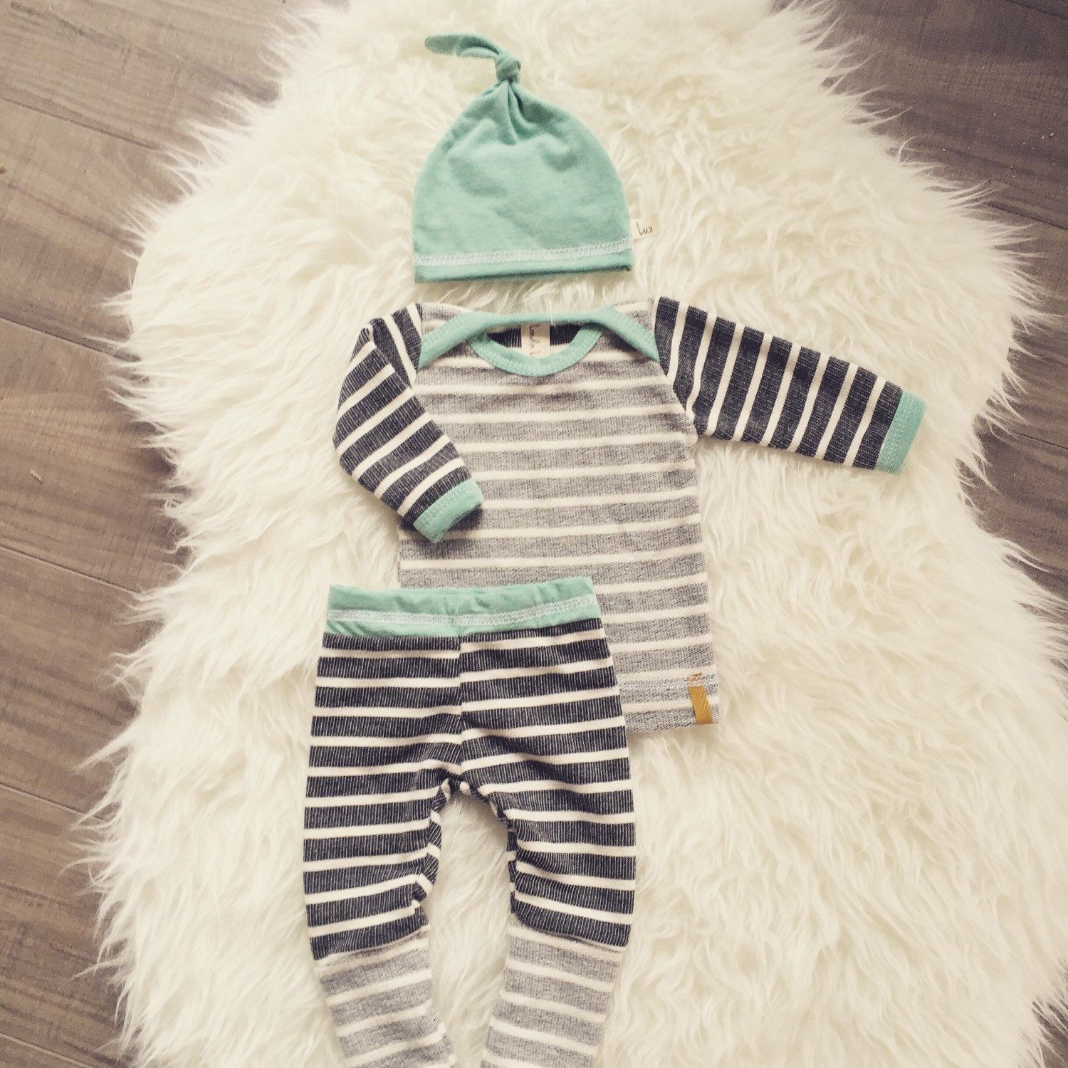 LONDIN LUX baby boy outfit! Perfect outfit to bring home baby in ...