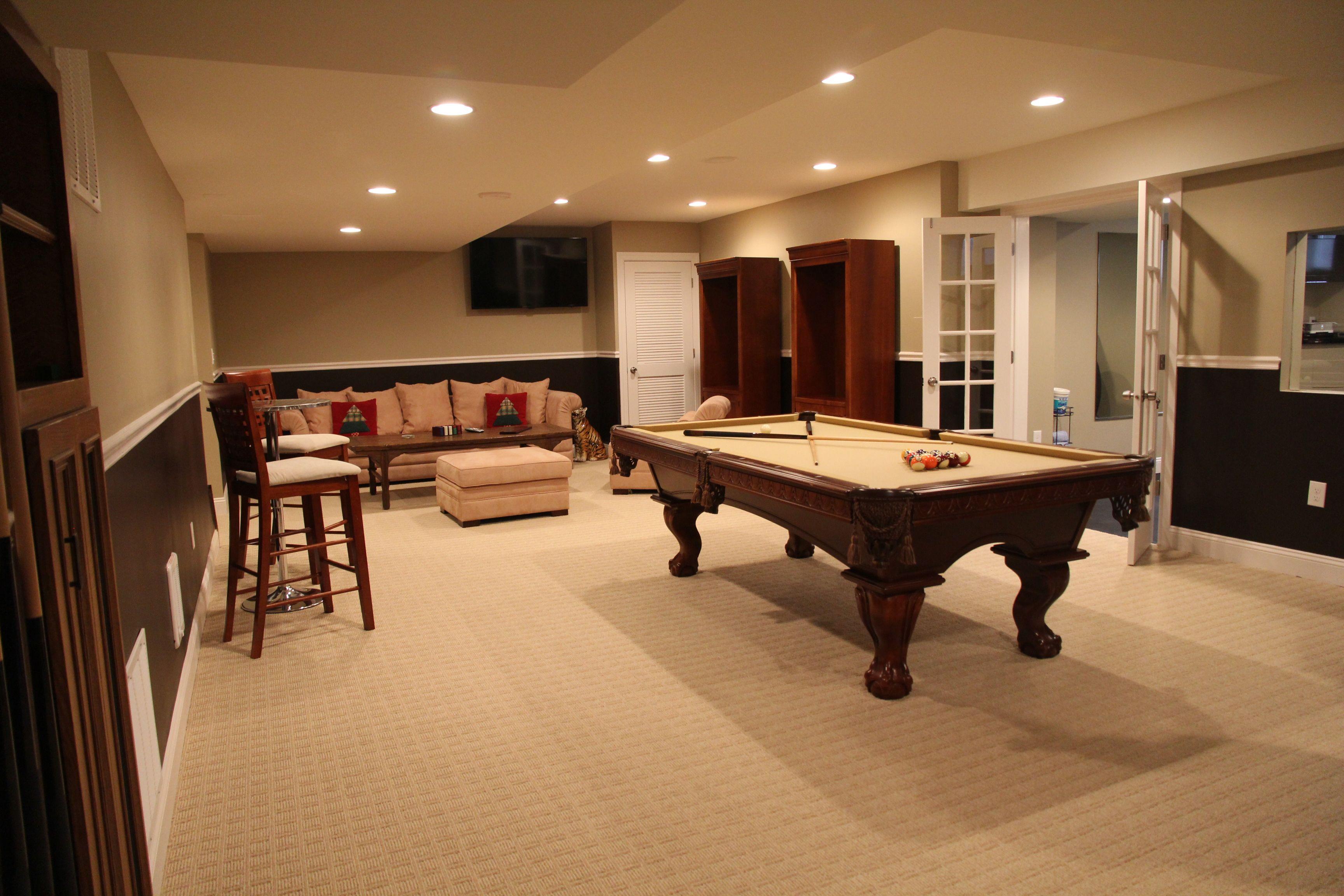 23 Most Popular Small Basement Ideas Decor And Remodel Billiards Room Decor Media Room Decor Rec Room Basement