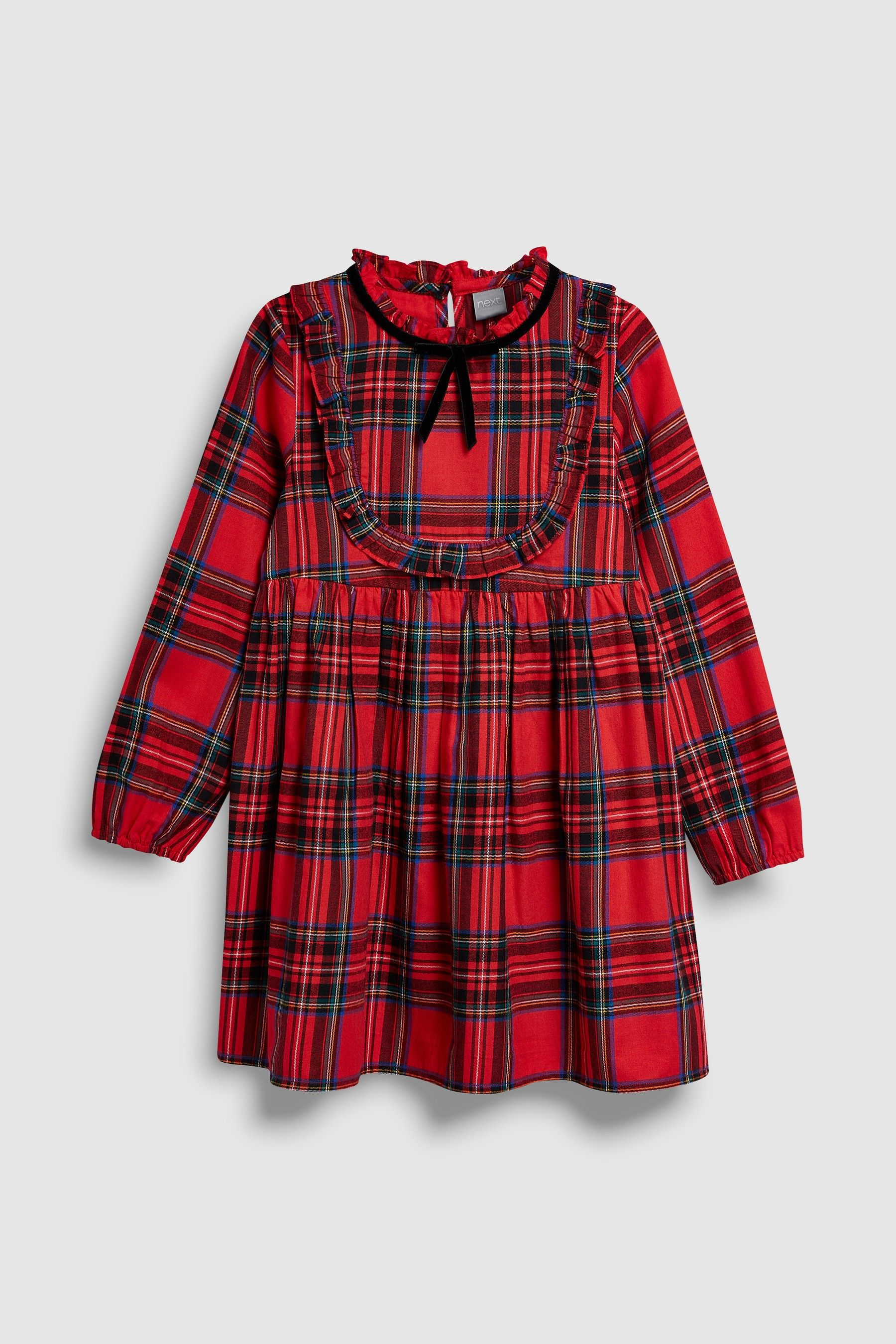 9cf44e1ffc1b Buy Red Girls Tartan Check Dress (3-16yrs) from the Next UK online ...