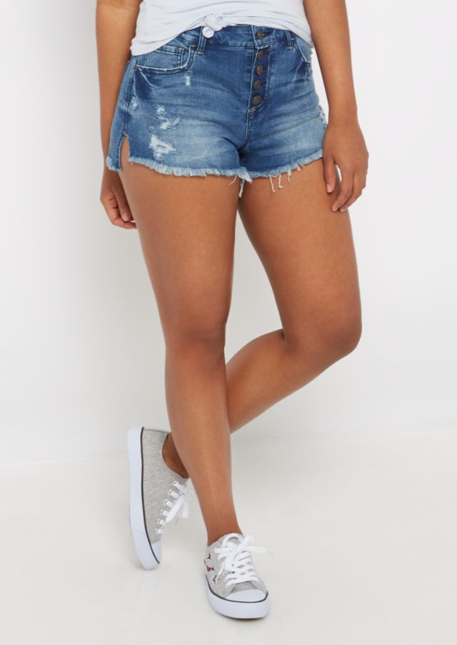 67afbf9de6 Image result for high waisted shorts for thick thighs | Summer ...