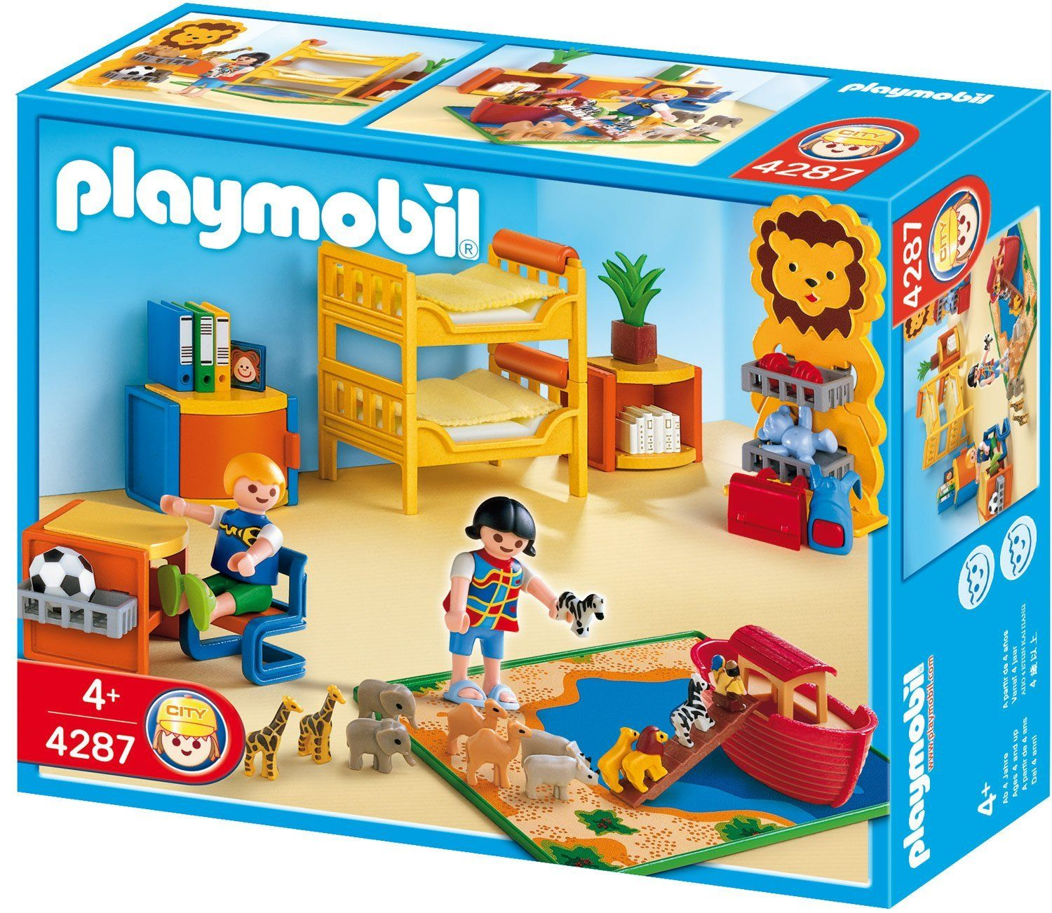 playmobil 4287 jeu de construction chambre des enfants jeux et jouets. Black Bedroom Furniture Sets. Home Design Ideas