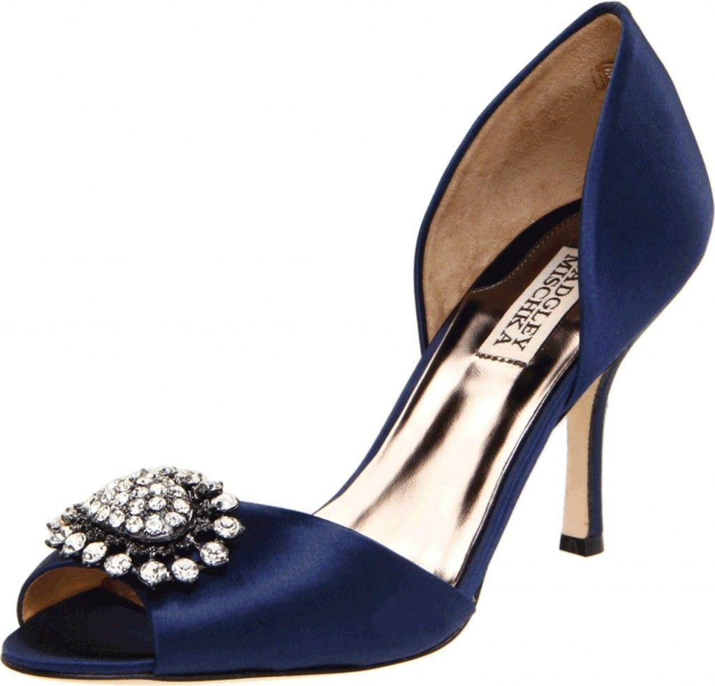 Wedding shoes for a girl who gets dressed from the bottom up