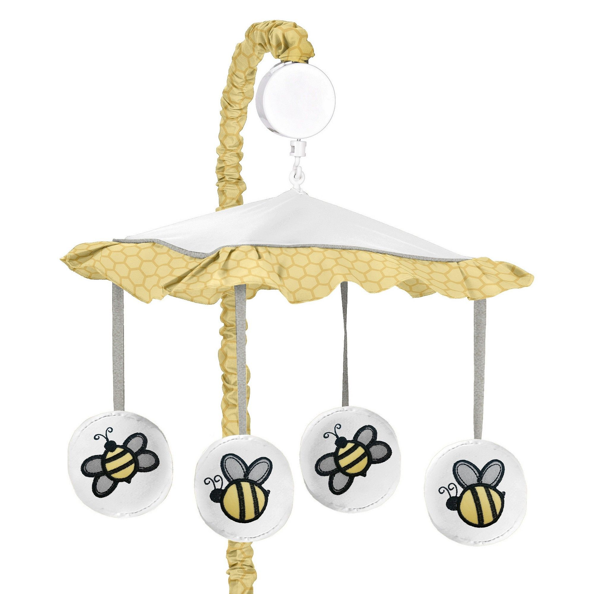 Sweet Jojo Designs Honey Bee Musical Mobile - Yellow | Diy ...