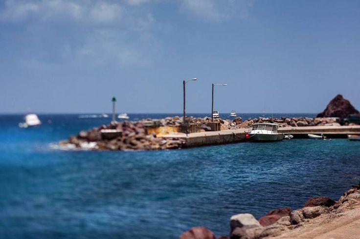 Fort Bay Harbour, Saba - Dutch Caribbean