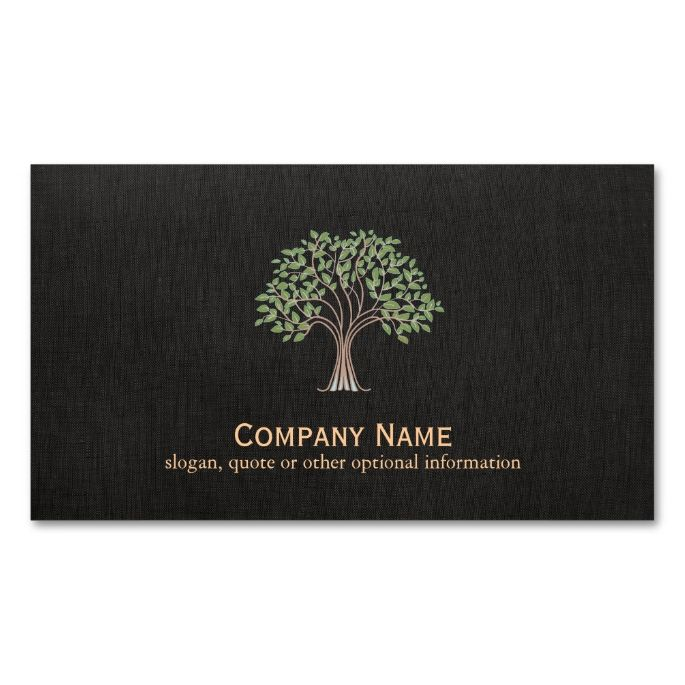 Classic tree logo business card tree logos business cards and card templates old wise tree logo nature business card make your own reheart Image collections