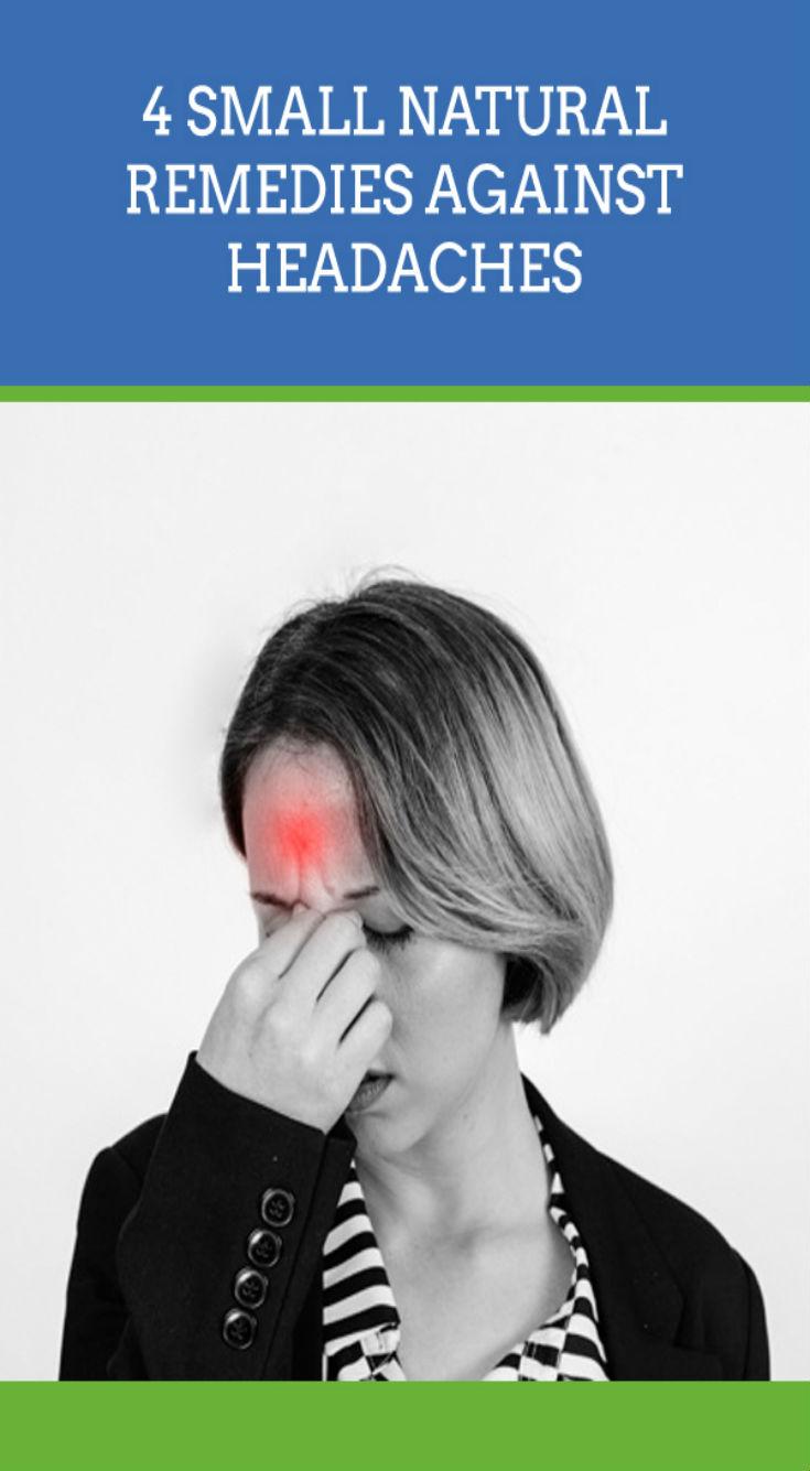 4 Small Natural Remedies Against Headaches - Daily Rumors