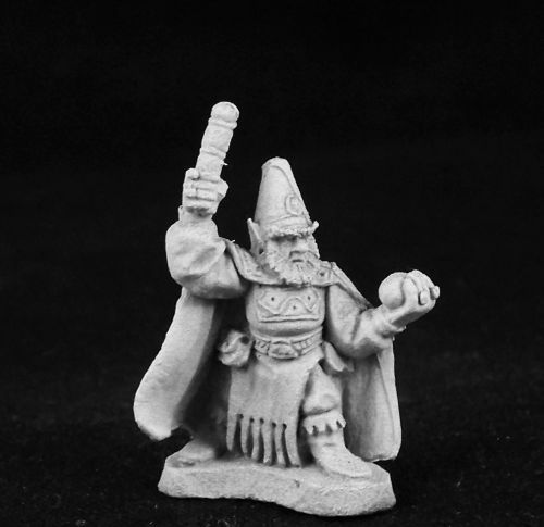 Ral Partha - AD&D 2nd Edition - 3stage-334b - Gnome Illusionist