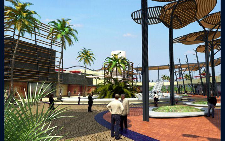 centro comercial ocio port aventura 10 fun arq