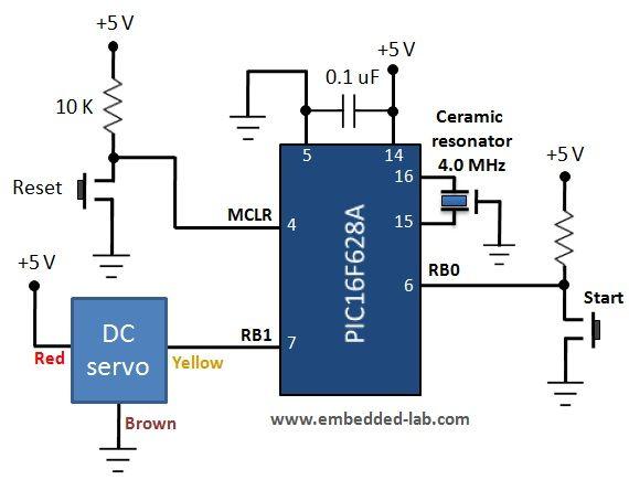 Servo motor stator diagram wiring diagram portal servo motor control demonstration elprocus pinterest rh pinterest co uk servo motor wiring diagram dc servo motor wiring diagram asfbconference2016 Gallery