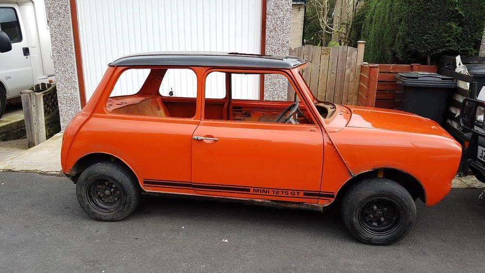 Ebay Classic Mini Clubman Shell W Engine Classicmini Mini Uk