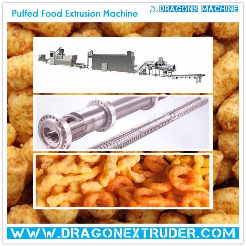 2019 的 Puff Snacks Processing Line can process various direct