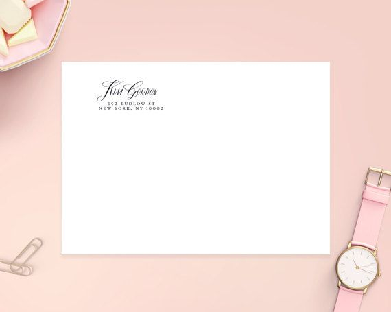 Transparent address labels 2 5 8 x 1 glossy clear by heartsroots
