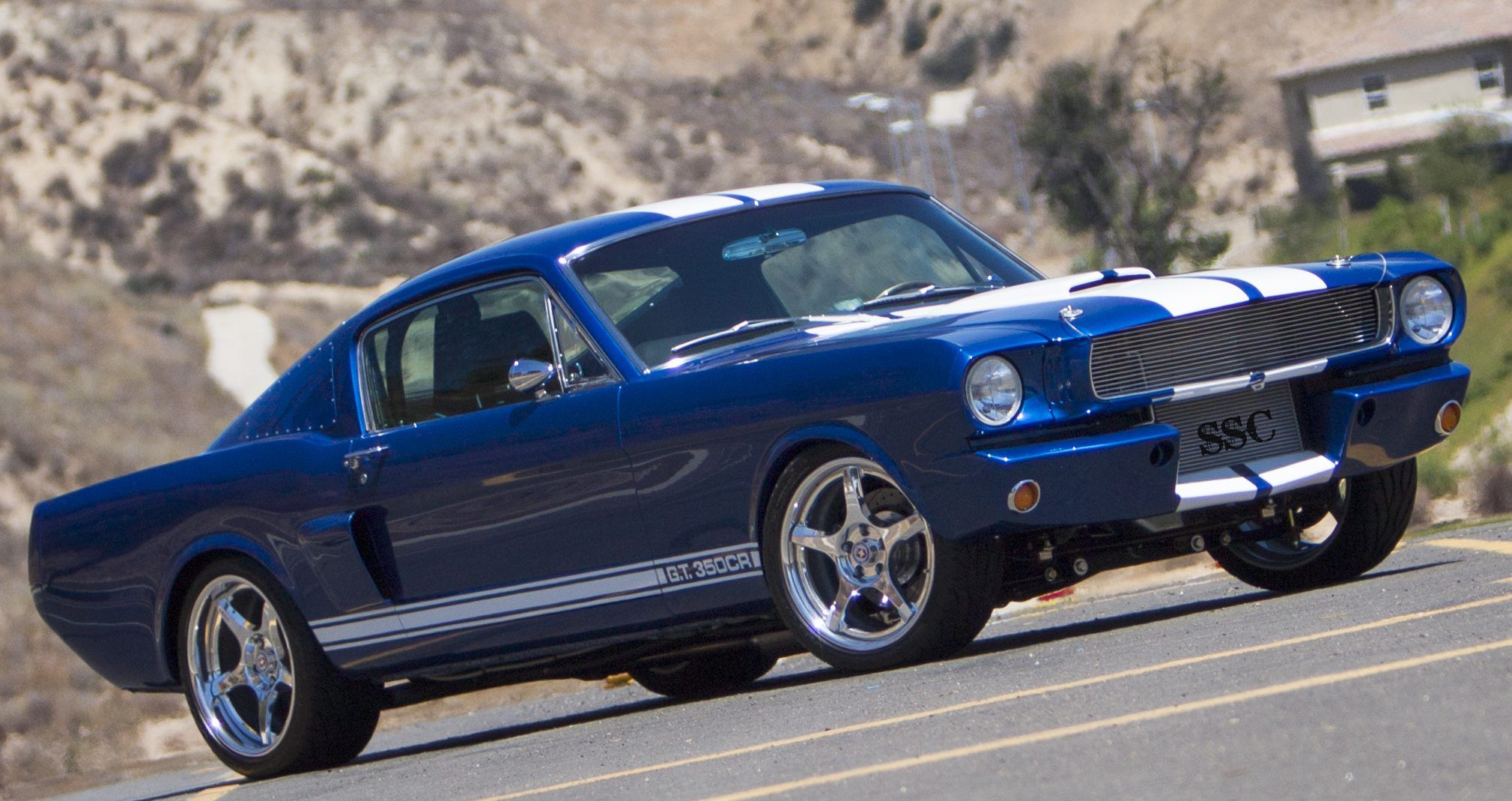 1966 mustang gt 350