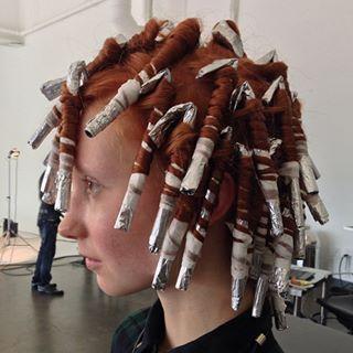 Пружинки Из Фольги в Pinterest Фольга Для Кудрей, Кудри и Волосы
