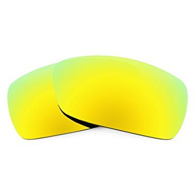 HKUCO Plus Mens Replacement Lenses For Oakley Holbrook Sunglasses 24K Gold Polarized UC4ZR