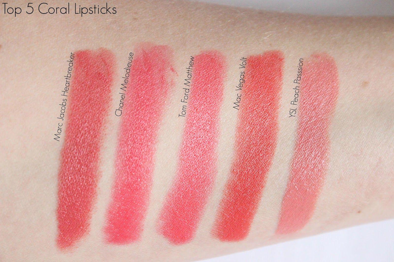 Top 5 Coral Lipstick Ysl Beauty Lipstick