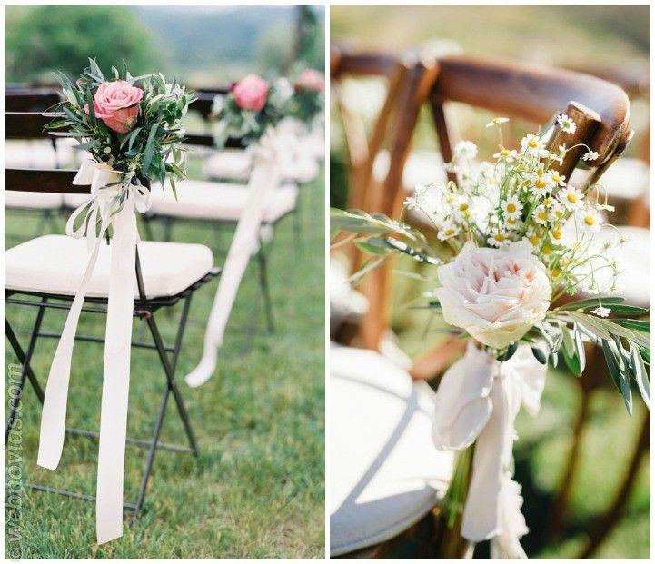 Flores para las sillas de vuestra boda flores para un for Sillas para bodas